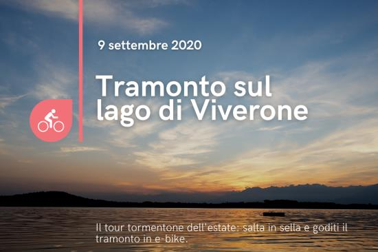 9 settembre Girolago di Viverone in e-bike